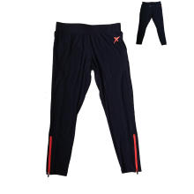 Женские Велоспорт брюки работает штаны с молнией на брючины и обратно, Спортивная одежда Manfuacturer