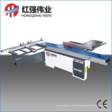 La máquina de la sierra de la tabla deslizante precisa / el panel vio la máquina / la máquina de carpintería
