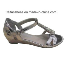 2016 Latest Fashion High Quality Diamond Women Sandals Wedge Heel
