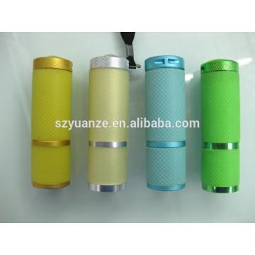 Grüne LED-Taschenlampe, LED-Taschenlampe Reflektor, führte Mini-Taschenlampe