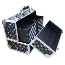 Cute dot jewelry case Aluminum metal