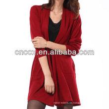 13STC5119 Lady lange Strickjacke Pullover Mantel