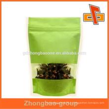 Китай производитель новый стиль продовольственной степени риса бумажный мешок с окном