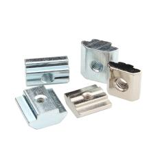 Hardware Manufacturer Bosch Compatible Aluminum Profile Accessories T Slot Nuts for T Slot Aluminum Extrusion