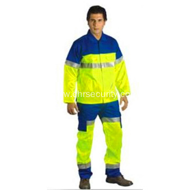 Double colour fashionable reflective suit