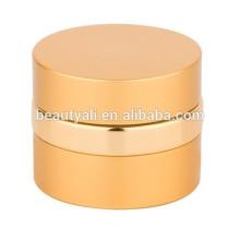 Fancy Runde Aluminium Kosmetik Creme Leere Glas