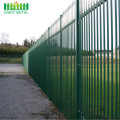 Fabrik liefern industrielle Metall Stahl Palisade Fencing Panel