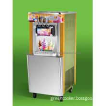Vertical spraypaint ice cream machine maker,commercial ice cream maker