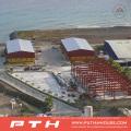 Almacén de estructura de acero diseñado profesionalmente con instalación fácil