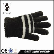 Children's winter knitted magic gloves