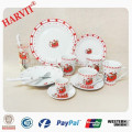 20pcs Christmas Dinnerware Sets/Porcelain Dinner set with Christmas Design