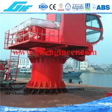 Grue marine hydraulique télescopique Boom 8t 12t