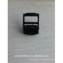 Alibaba promoción Ampliamente Utilizado 25mm negro recubierto de cam hebilla de la correa