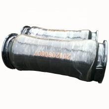 "Durable 6"" slurry sand discharge dredge hose with steel flange"