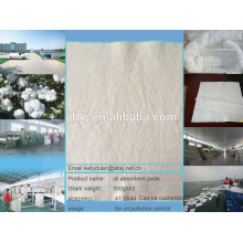 Like oil hate water 100%pure cotton oil absorbent pads