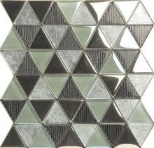 芸術的なパターンの色の装飾ガラス モザイクを混合