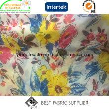 100% полиэстер 300т печати ткани для женской одежды