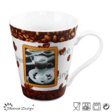 2016 Taza de café nueva y caliente de la porcelana 12oz
