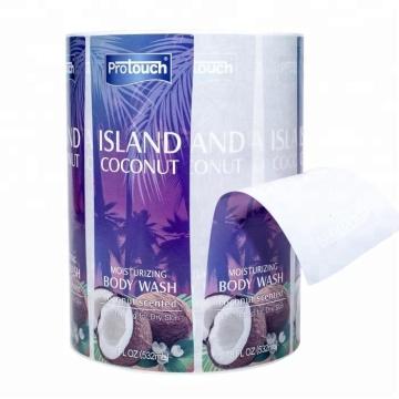 Etiqueta cosmética adesiva feita sob encomenda de alta qualidade da etiqueta