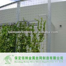 Acero inox cable decorativo fachada malla