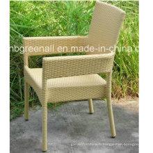 Chaise de chaise empilable à usage professionnel pour chaise de jardin