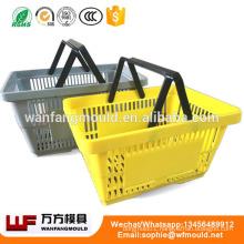 China Taizhou cheap plastic basket mould manufacture/cheap plastic basket injection mould/cheap plastic basket molding products