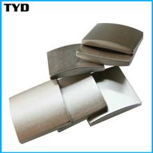 Ni-Cu-Ni Revêtement N50 Strong Segment NdFeB Magnet