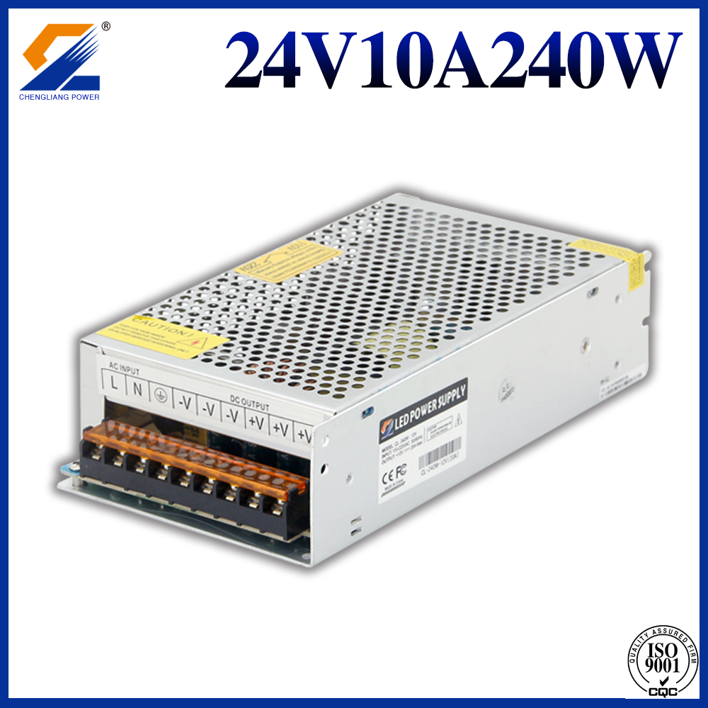 24V 10A 240W converter voor LED-modules