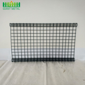 Vacker form Metal Double Circle Fence