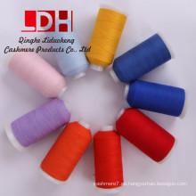 La mejor calidad de cachemira mongol tejido a mano de lana de cachemira lana de tejer hilado de lana de cachemira bufanda de lana