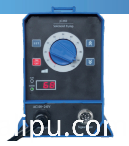 Solenoid metering pump Auto-Adjust (Digital impulse signal control feedback)