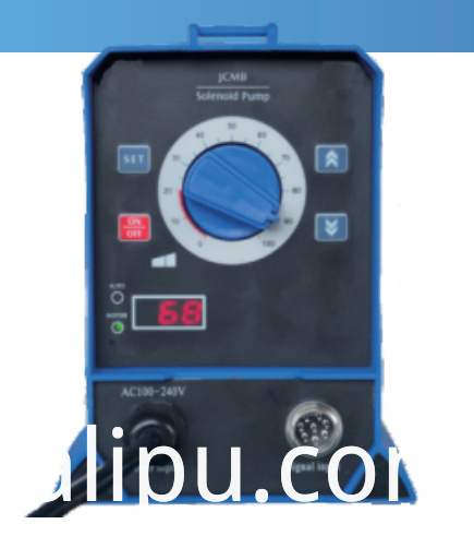 Solenoid pump  Auto-Adjust (Digital impulse signal control feedback)
