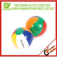 Balle de plage gonflable faite sur commande bon marché promotionnelle