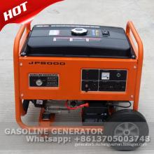 220В 50Гц 5кВт молчком генератор газолина