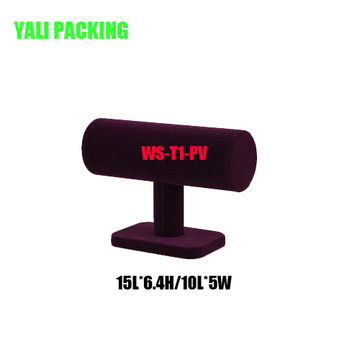 China Factory produces Velvet Watch Bracelet Stand (WS-T1-PV)