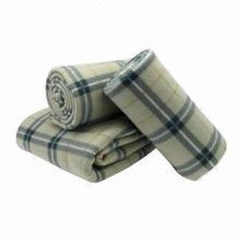 100% Polyester Printed Polar Fleece Blanket with Ultrasonic Edge