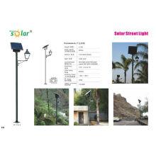 16W European style solar street light
