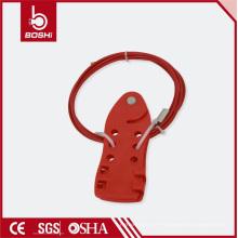 Corps en résine à 2 mètres Câble 5mm Forme du poisson Verrouillage du câble