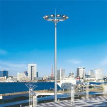 Tour de pylône d'éclairage de 18 m, 20 m, 25 m, 30 m et 35 m de hauteur avec système de levage et d'abaissement
