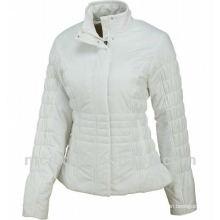 Moda de moda de ganso por la chaqueta llena