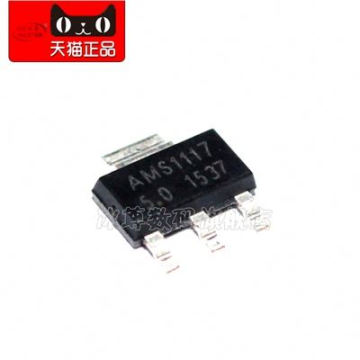 BZSM3-- SOT223 1117 5V power supply regulator original authentic Electronic Component IC Chip AMS1117-5.0