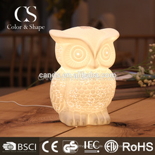 Owl Design Dekoration Beleuchtung Tischlampe