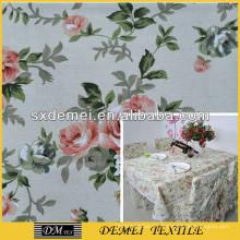 impresión de la tela de lienzo flor