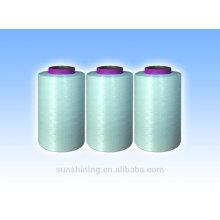 fil continu de filaments de viscose couleur brillant 150D / 30F haute qualité