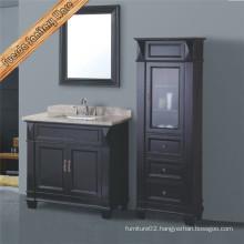 Classical Solid Wood Bathroom Vanity Cabinet