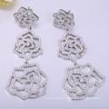 2018 hot style silver jewelry for women earrings