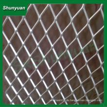 Weit verbreitetes 1x1.8mm Aluminium-Streckmetallgewebe / Drahtgeflecht