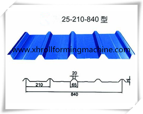 840 roof tile profile