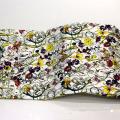Tela de algodón de impresión de flores para prendas de vestir