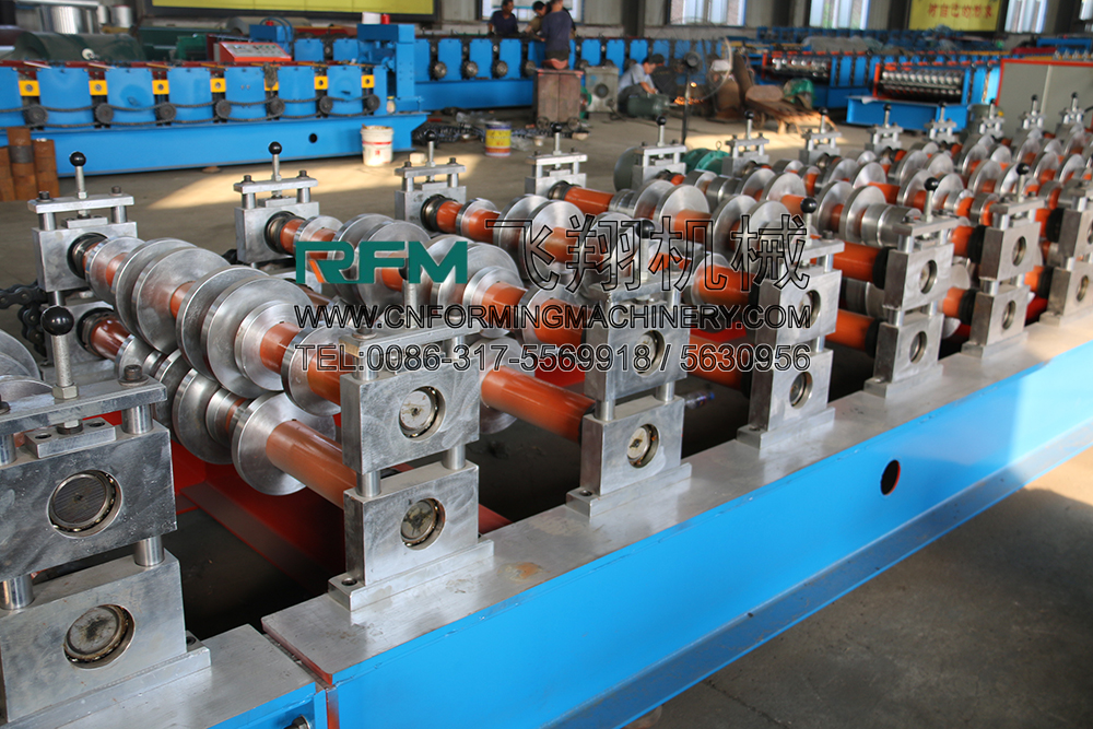 galvanized steel floor decking forming machine